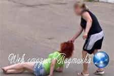Россиянка протащила соперницу за волосы и попала на карты Google