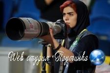 Иранская журналистка нашла оригинальный способ посмотреть футбол и прославилась